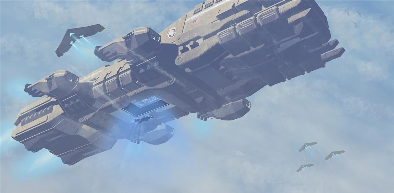 Endeavour-class Assault Ship | Halo Fanon | FANDOM powered
