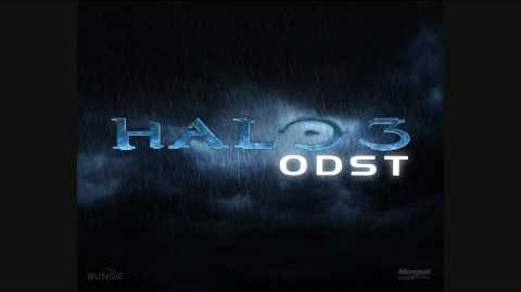 Halo 3 ODST OST Track 03 Traffic Jam