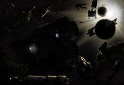 UNSC Destroyed Fleet