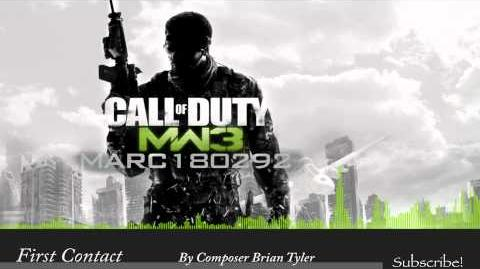 MW3 Soundtrack First Contact