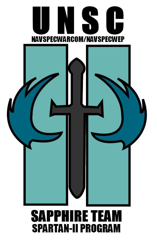 Image Sapphire Team Logo With Textg Halo Fanon Fandom