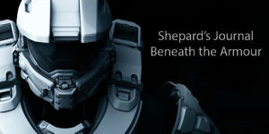 Shepard's journal cover