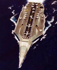 Aircraft cruiser wet fleet