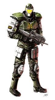Colonial marine armor