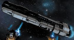 Halo Initiation unidentified frigate