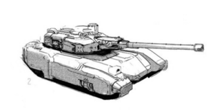 KSM1 Militia Tank