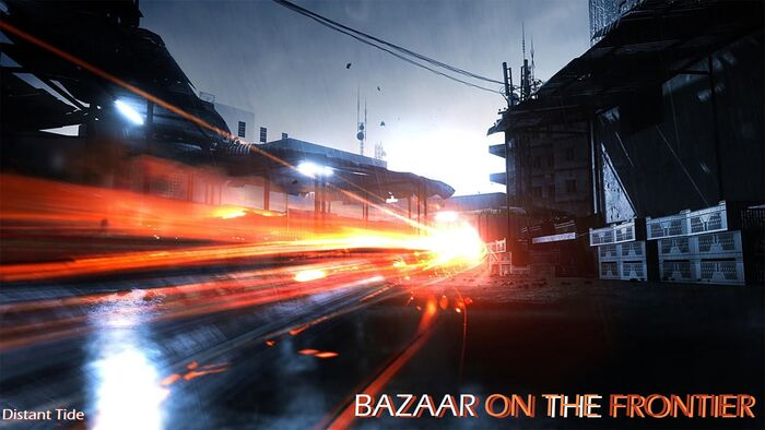 Bazaar On The Frontier