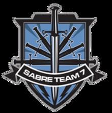 Sabre Team 7 Emblem