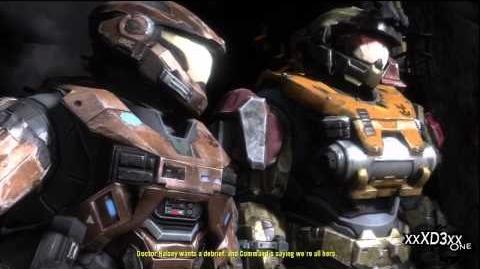 Halo Reach - 3 Mission Part 3 of 3 ONI Sword Base (Walkthrough) HD