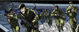 Insurrection Troops