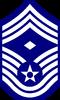 UNSC-AF E-9 First Sergeant