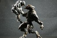 Zephyr 'Rorke choking ODST soldier