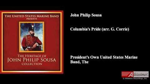 John Philip Sousa, Columbia's Pride (arr. G. Corrie)