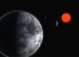 The Planetary System in Gliese 581 (by)