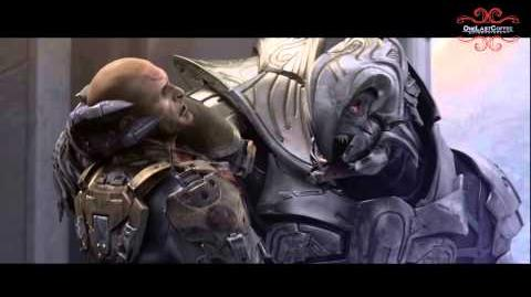 Halo Wars Spartans Vs Elites Scene HD
