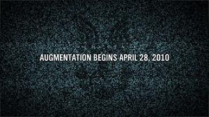 Augmentation Begins April 28th