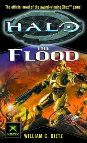Halo The Flood by William C Dietz novel cover