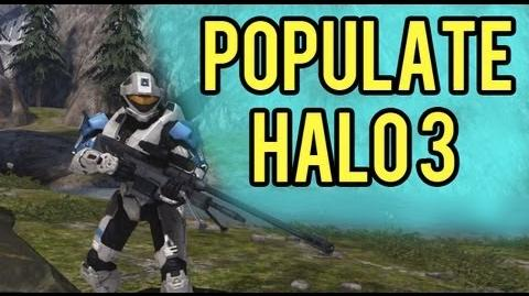 Populate Halo 3 Day Promo