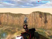 Rocket Warthog On Cliff