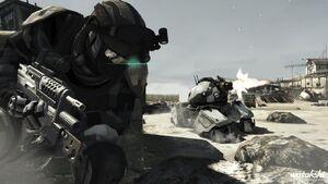 Soldados de reconocimiento fantasma