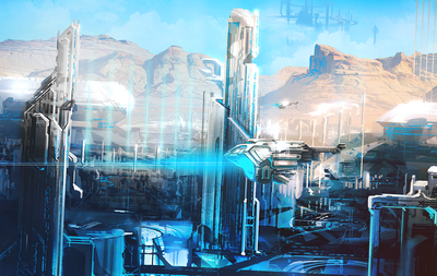 Forerunner city by tdspiral-d4o8pnd
