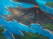 Volcanic island by noahbradley-d4xfdke