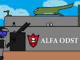 Base de entrenamiento terrestre de Soldados de Choque de Descenso Orbital Alfa