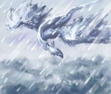 Ice bird elemental series by vandervals