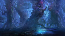 Blue forest by gypcg-d4c2d3c