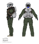 Halo Soldier Civil