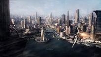Future city by 3yen-d30t48j