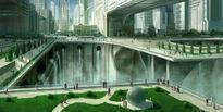 Futuristic city 2 by joakimolofsson-d59agkh