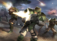 HW2 Blitz Armored Marines