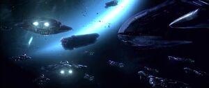 Storm fleet surrounding FUD
