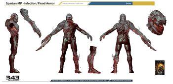 Halo 4 Flood concept art 2
