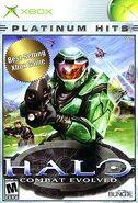 Halo Combat Evolved (Xbox) Platinum Hits box art