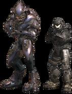 Halo Reach Biped Comparison