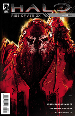 Halo Rise of Atriox Issue 5 cover