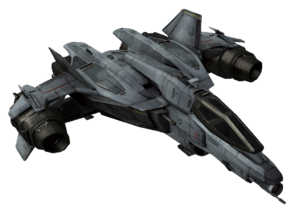 Sabre-class Starfighter Angle1