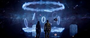 H2A - Halo Array hologram