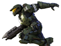Halo Legends Spartan-117 Right