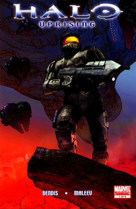 Halo Uprising Issue 1 cover