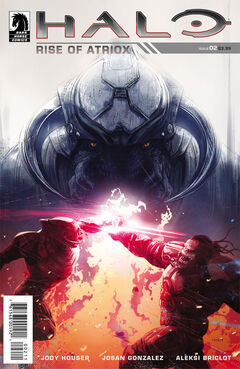 Halo Rise of Atriox Issue 2 cover