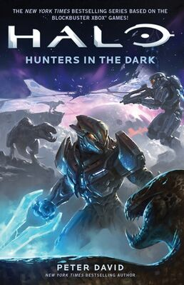 Cover art for Halo- Hunters in the Dark novel 2015-03-26 06-25