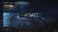 HMCC - Mission selection menu