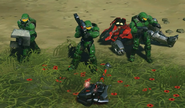 HW2 Halo - Red Team In-game