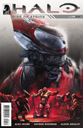 Halo Rise of Atriox Issue 4 cover