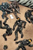 Halo Escalation Team Black dead