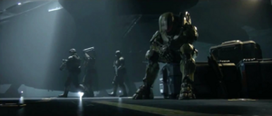 Master Chief - Social outcast - wide shot