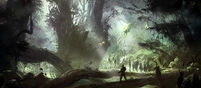Halo4 Requiem jungle concept-art